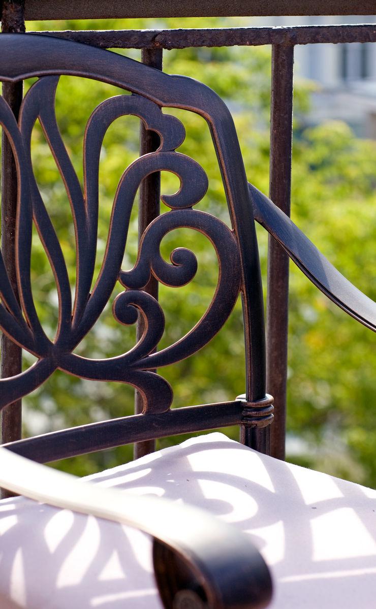Дизайн-студия интерьера 'ART-B.O.s' Balconies, verandas & terraces Furniture