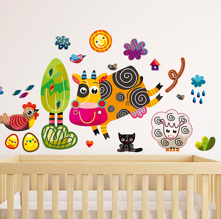 Farm Nursery Wall Stickers by Witty Doodle Witty Doodle ArtworkPictures & paintings