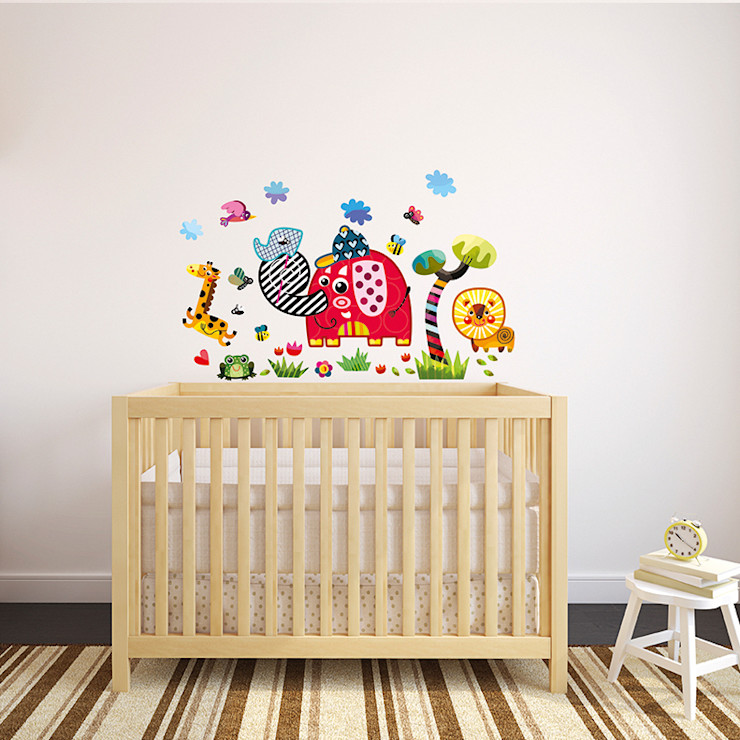 Safari Nursery Wall Stickers by Witty Doodle Witty Doodle ArtworkPictures & paintings