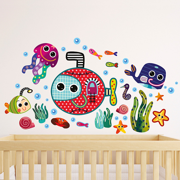 Underwater Nursery Wall Stickers by Witty Doodle Witty Doodle ArtworkPictures & paintings