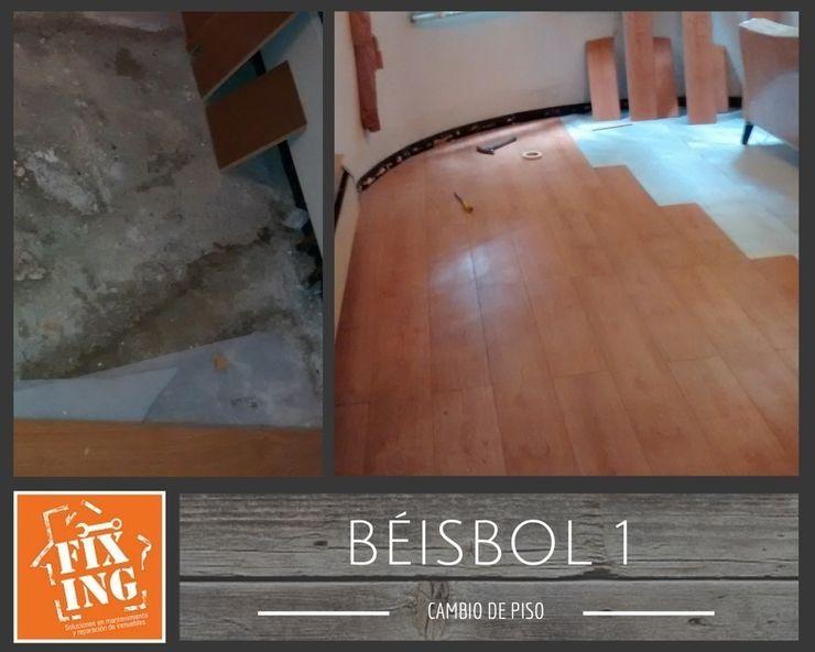 Piso Fixing Paredes y pisos de estilo clásico
