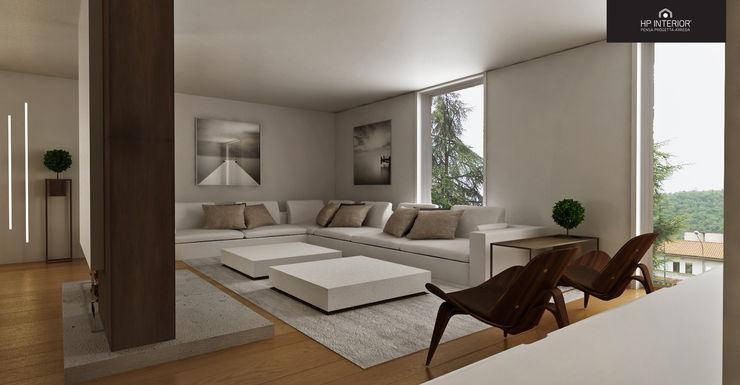 HP Interior srl Salas de estar modernas