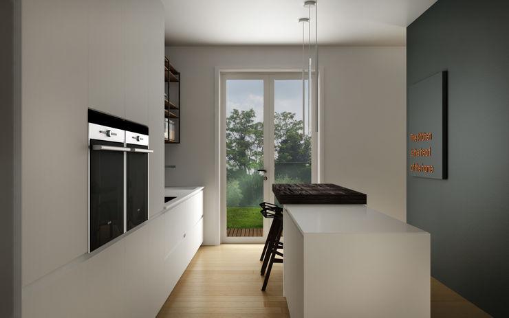 HP Interior srl Cozinhas modernas