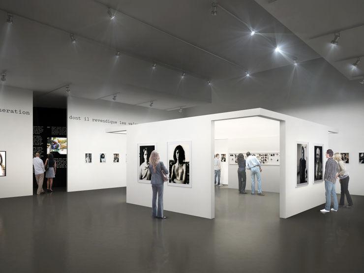 Gus Van Sant Sebastien Rigaill 3D Visualiser Event venues