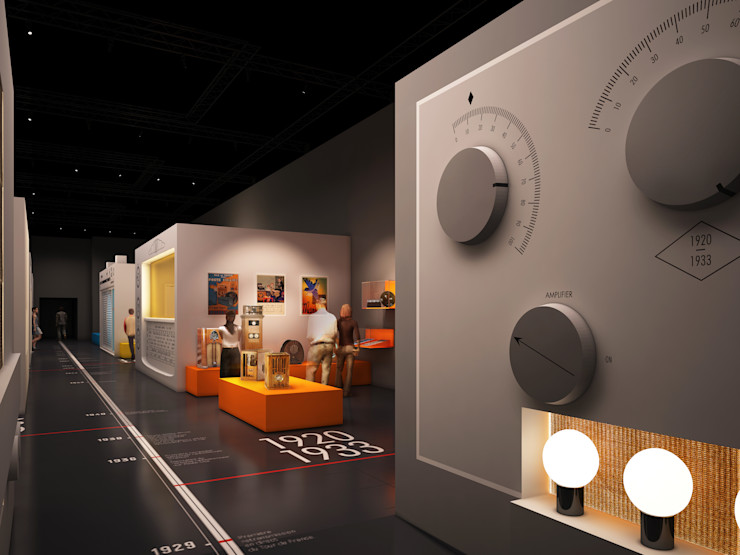 Radio Sebastien Rigaill 3D Visualiser Event venues