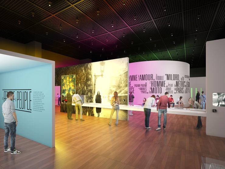Piaf Sebastien Rigaill 3D Visualiser Event venues