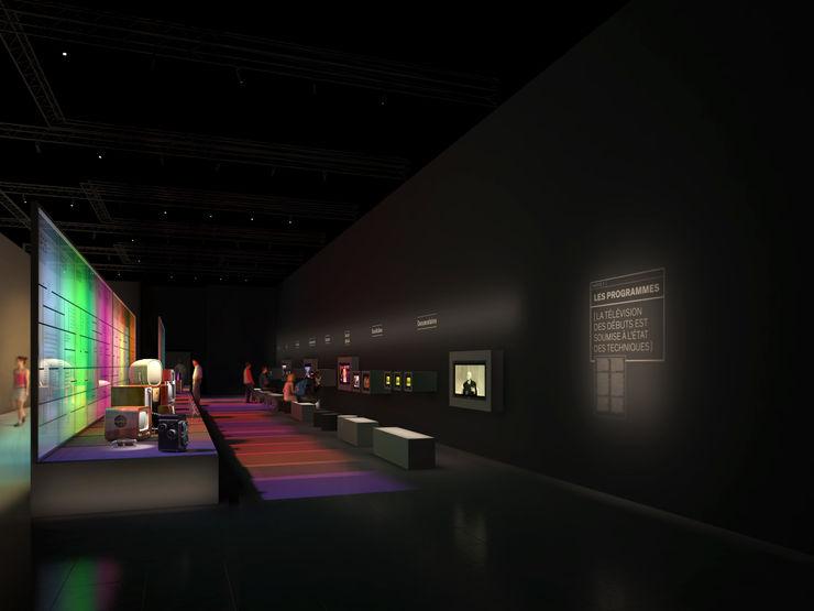 Télévision Sebastien Rigaill 3D Visualiser Event venues