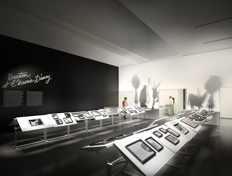 Tim Burton Sebastien Rigaill 3D Visualiser Event venues