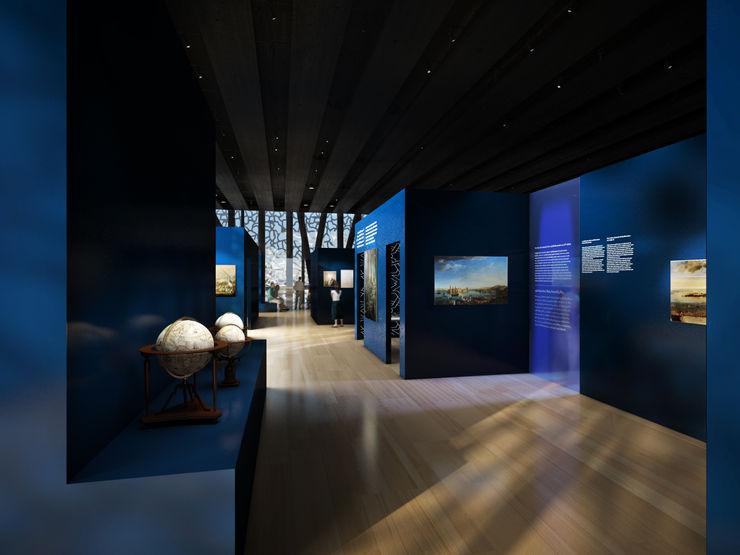 Le Noir et le Bleu Sebastien Rigaill 3D Visualiser Event venues