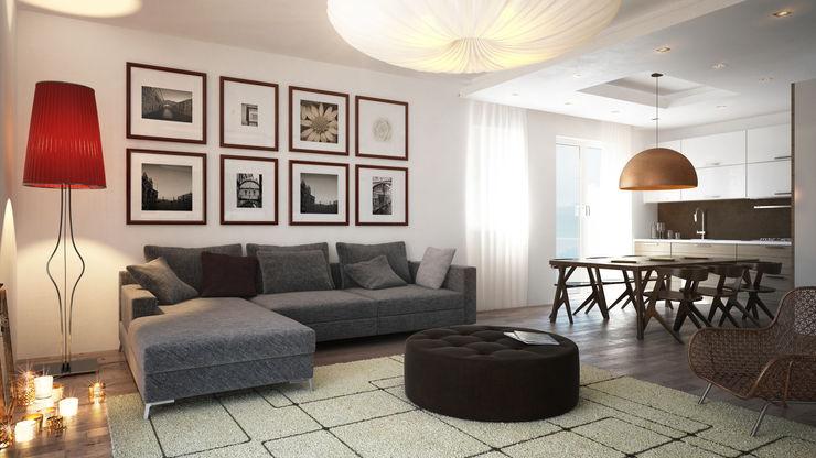 Beniamino Faliti Architetto Modern living room
