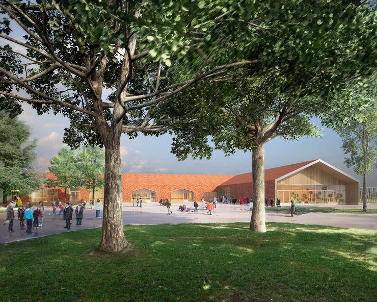 Pablo Neruda Elementary School Sebastien Rigaill 3D Visualiser Schools
