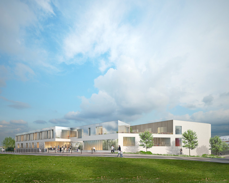 Dunoyer de Segonzac Elementary School Sebastien Rigaill 3D Visualiser Schools