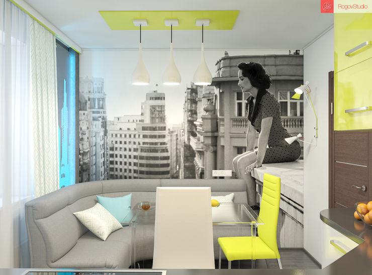 Яркие мечты RogovStudio Кухня в стиле минимализм