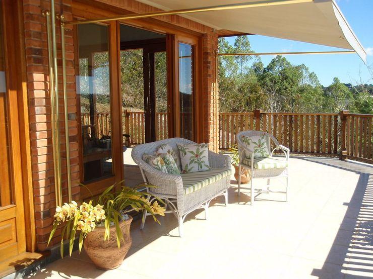 Liliana Zenaro Interiores Balcones y terrazas de estilo rústico