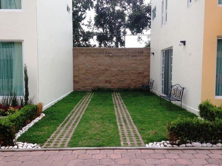 jardín similar - foto antes, México DF, 50 m2 Zen Ambient