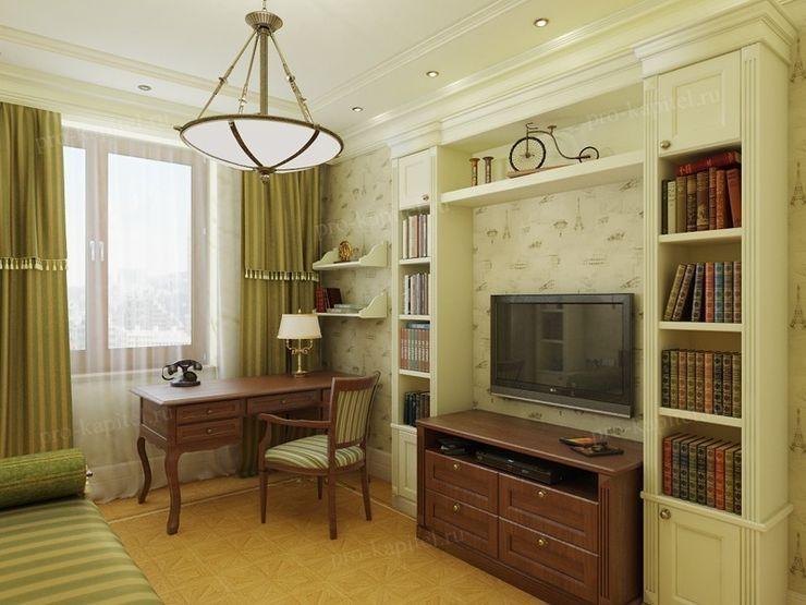 Дизайн интерьера детской комнаты для мальчика Архитектурное Бюро 'Капитель' Детская комнатa в классическом стиле