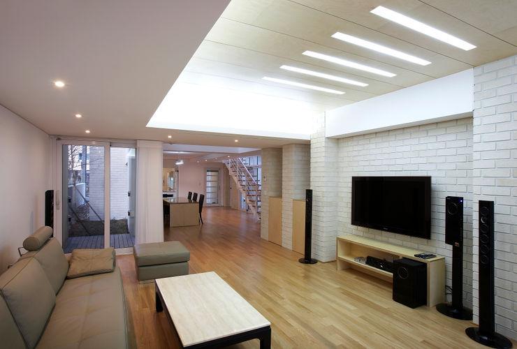 (주)건축사사무소 아뜰리에십칠 Salon moderne