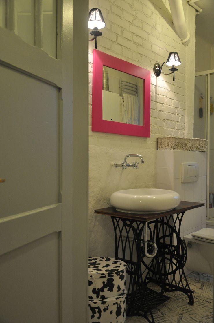 Mieszkanie z duszą Perfect Home Skandynawska łazienka