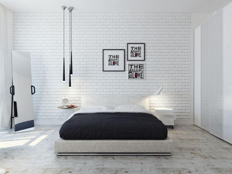 Оксана Мухина Dormitorios minimalistas