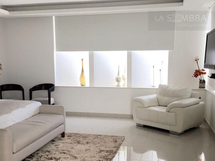 Cortina Enrollable Persianas La Sombra Dormitorios minimalistas