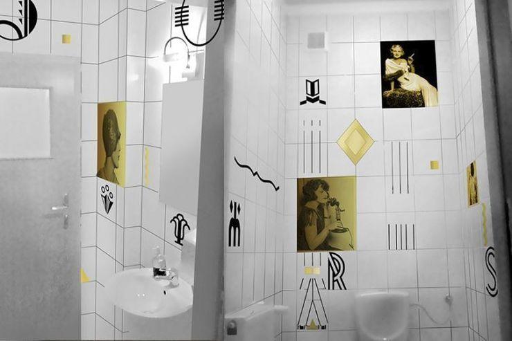 Projekt muralu Pracownia Projektowa Hanna Kłyk ŁazienkaArmatura