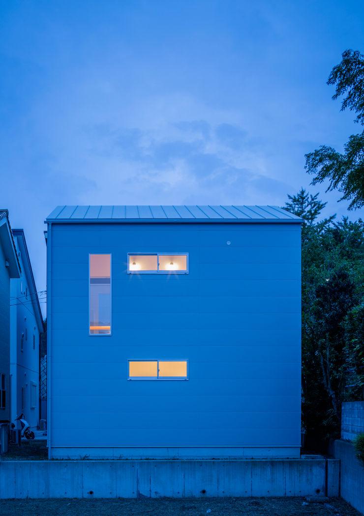 萩原健治建築研究所 Minimalist houses