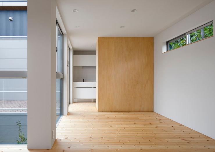 萩原健治建築研究所 Minimalist dining room