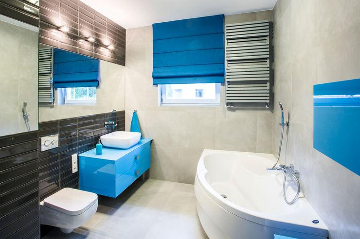 DOM W MAGADALENCE INSPACE Eklektyczna łazienka