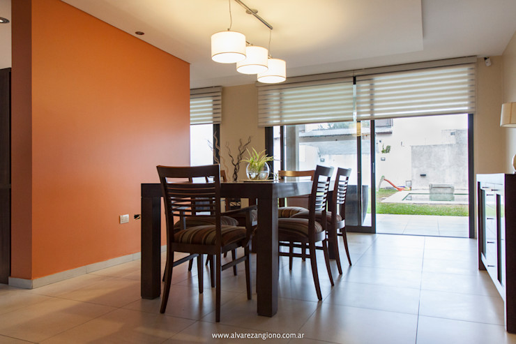 Estudio Alvarez Angiono Modern Dining Room