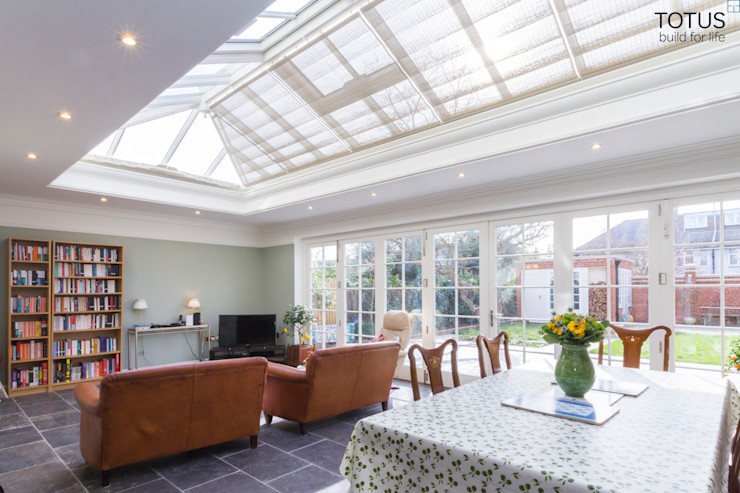 House extension and transformation, Wandsworth SW18 TOTUS Country style dining room
