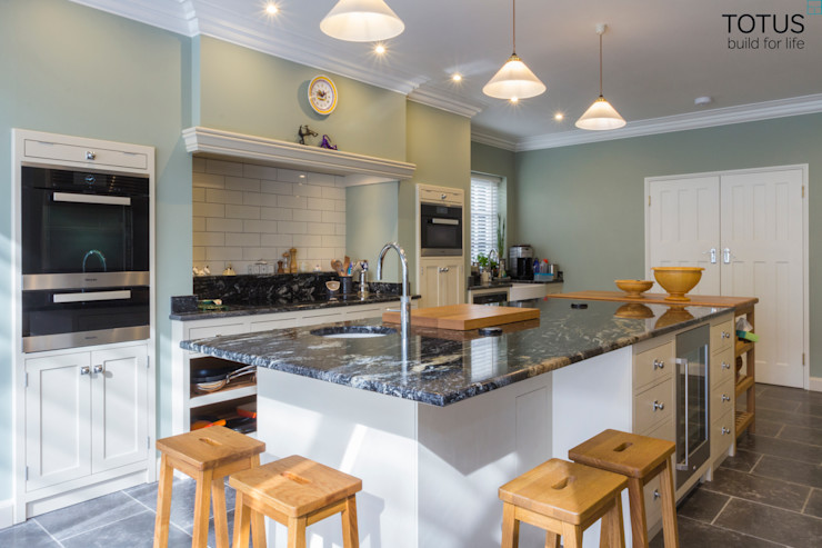 House extension and transformation, Wandsworth SW18 TOTUS Country style kitchen