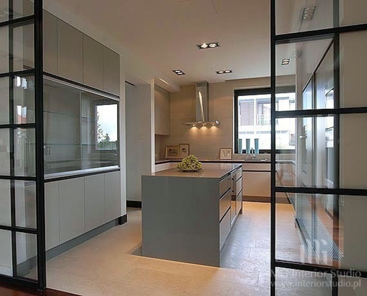 MG Interior Studio Michał Głuszak Kitchen