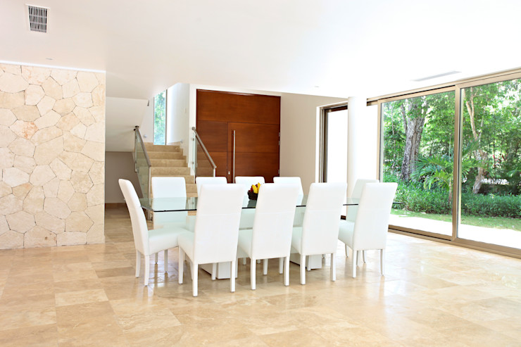 Enrique Cabrera Arquitecto Modern dining room