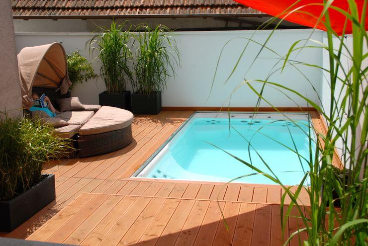 Future Pool GmbH Hồ bơi phong cách hiện đại