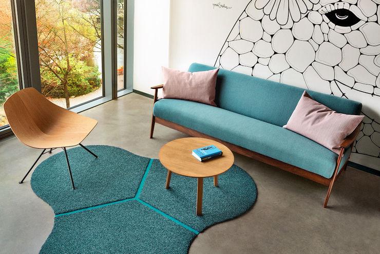 """Teppich-Insel """"Mito"""" Vorwerk flooring Moderne Bürogebäude"""