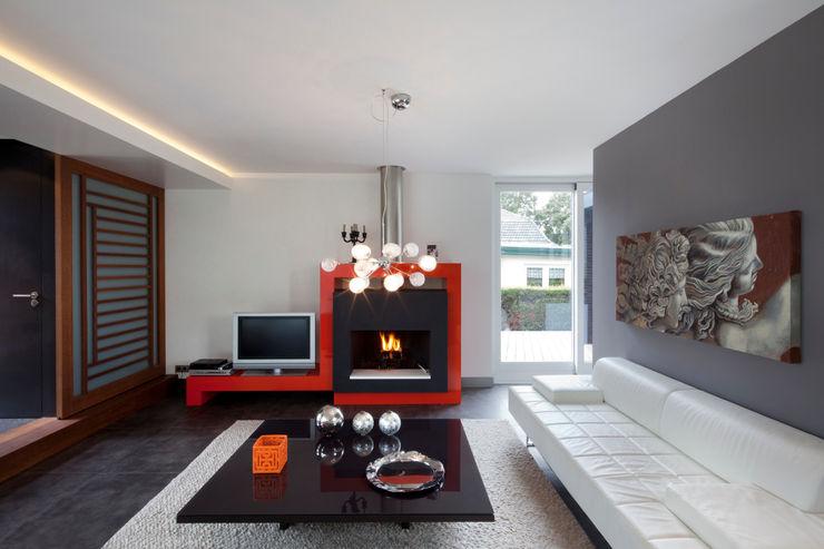 MEF Architect Livings de estilo moderno