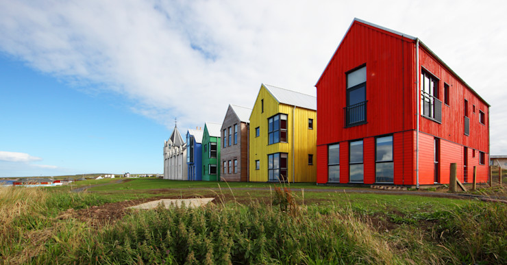 Painted Scotlarch Russwood - Flooring - Cladding - Decking Modern hotels