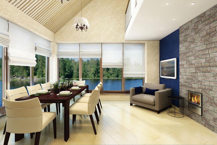 Студия интерьера 'SENSE' Scandinavian style living room