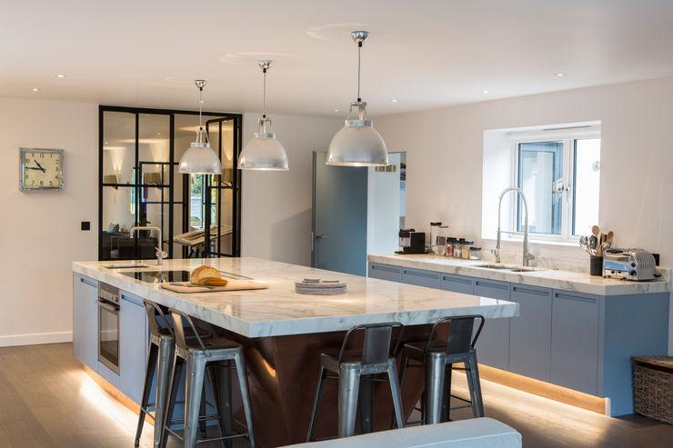 Private Residence, Surrey Nice Brew Interior Design مطبخ