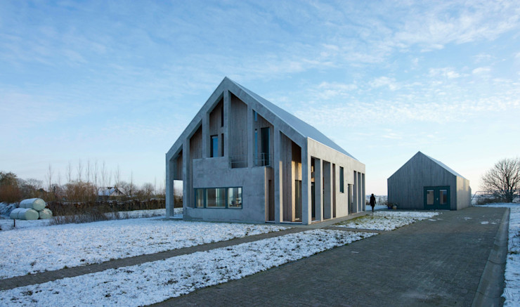 Woonhuis Silverled Zilt Architecten Moderne huizen