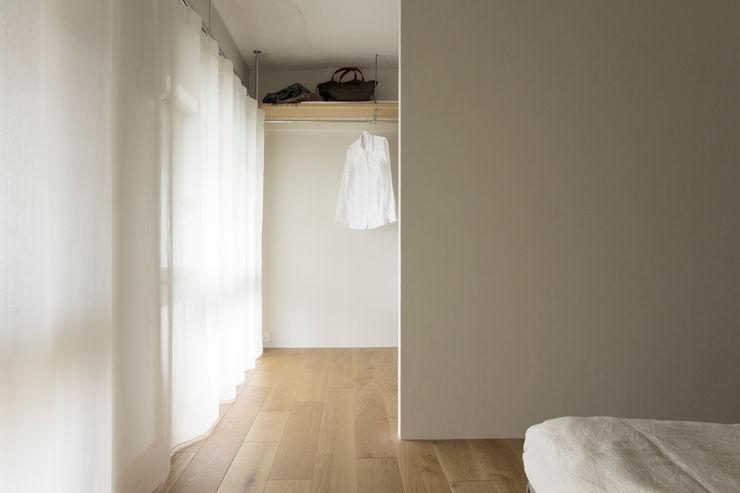 松浪光倫建築計画室 Rustic style bedroom