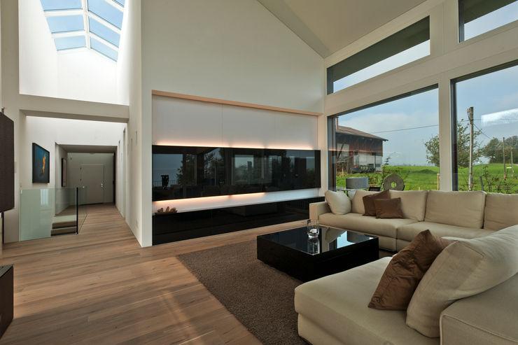 SimmenGroup Holding AG Livings de estilo moderno