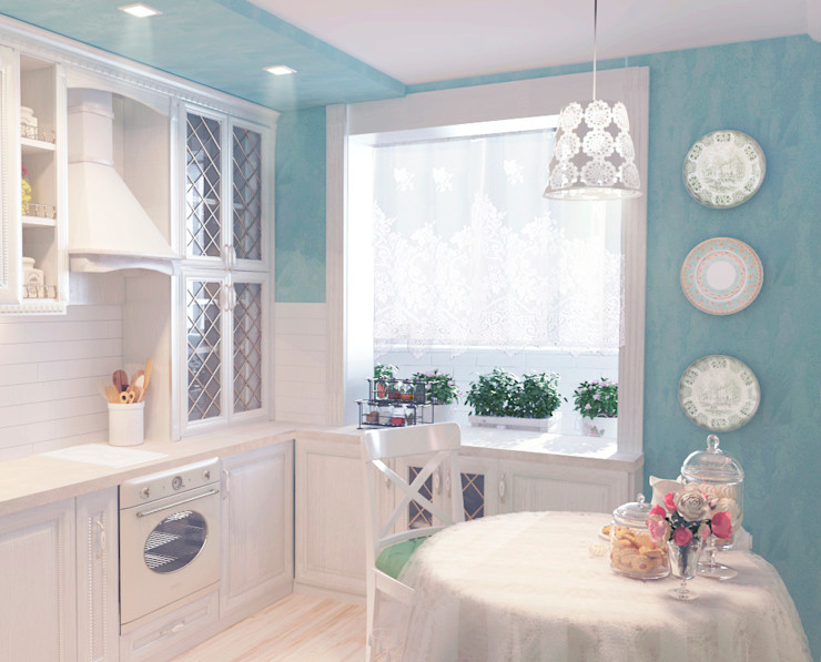 Katerina Butenko Cocinas de estilo clásico