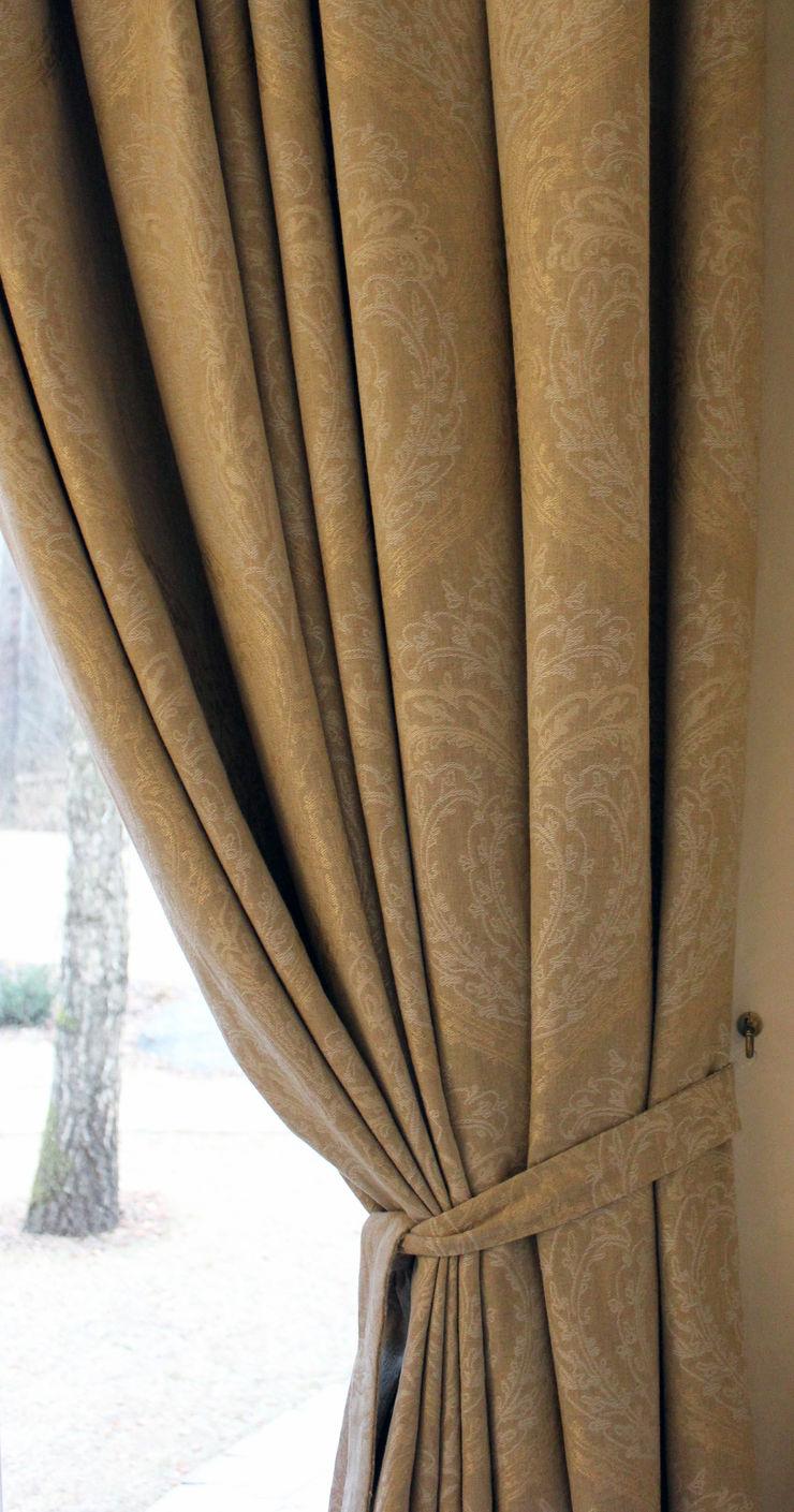 Дизайн-студия интерьера 'ART-B.O.s' Windows & doors Curtains & drapes