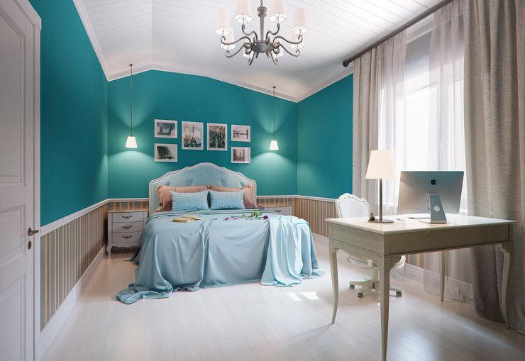 Дизайн-студия интерьера 'ART-B.O.s' Classic style bedroom