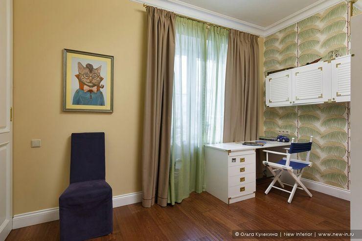 Квартира на Петроградке в колониальном стиле Ольга Кулекина - New Interior Детская комната в колониальном стиле Многоцветный