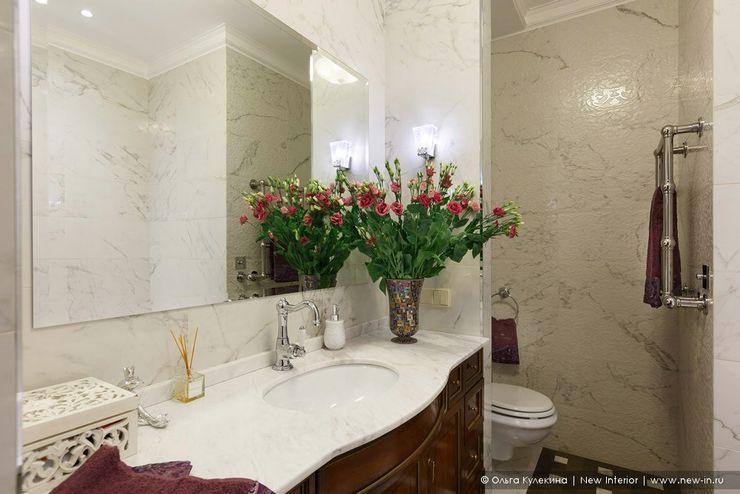Квартира на Петроградке в колониальном стиле Ольга Кулекина - New Interior Ванная в колониальном стиле