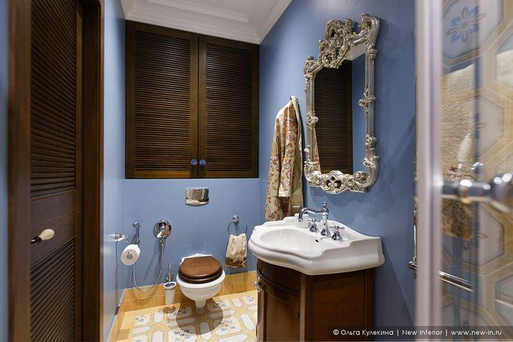 Ольга Кулекина - New Interior Baños de estilo colonial Azul
