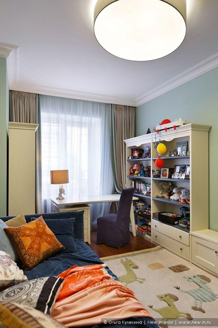 Квартира на Петроградке в колониальном стиле Ольга Кулекина - New Interior Детская комната в колониальном стиле