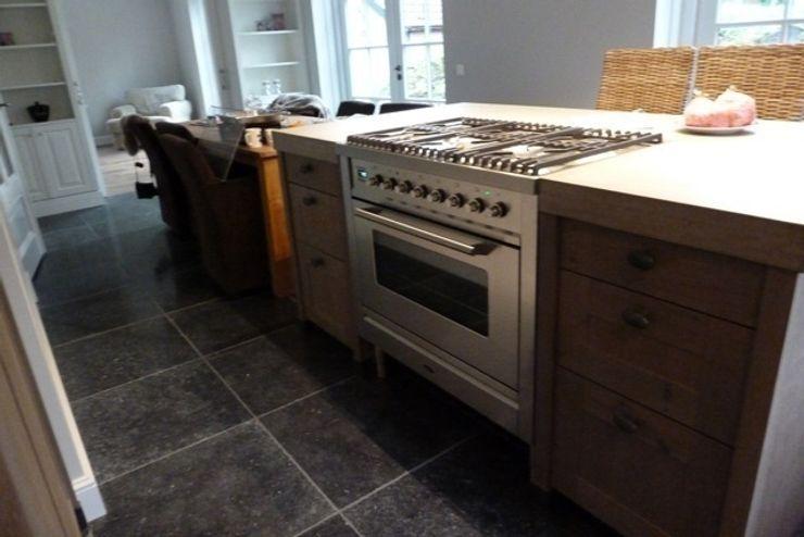 Boretti 90 cm fornuis in roestvrijstaal de Lange keukens Landelijke keukens